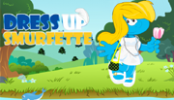 dress-up-smurfette