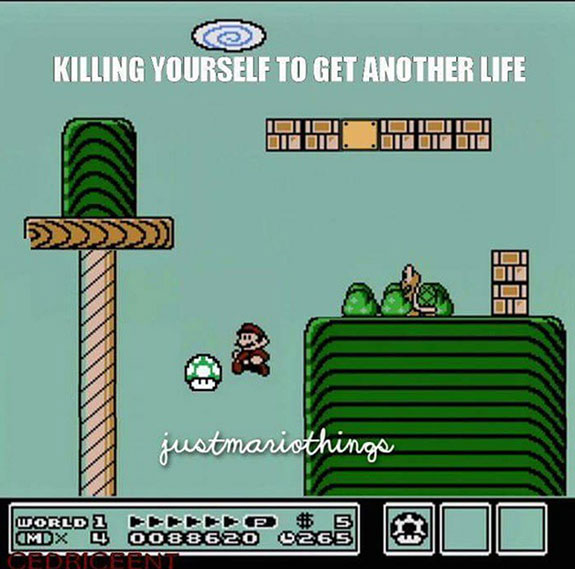 a gallery of funny video game related pictures