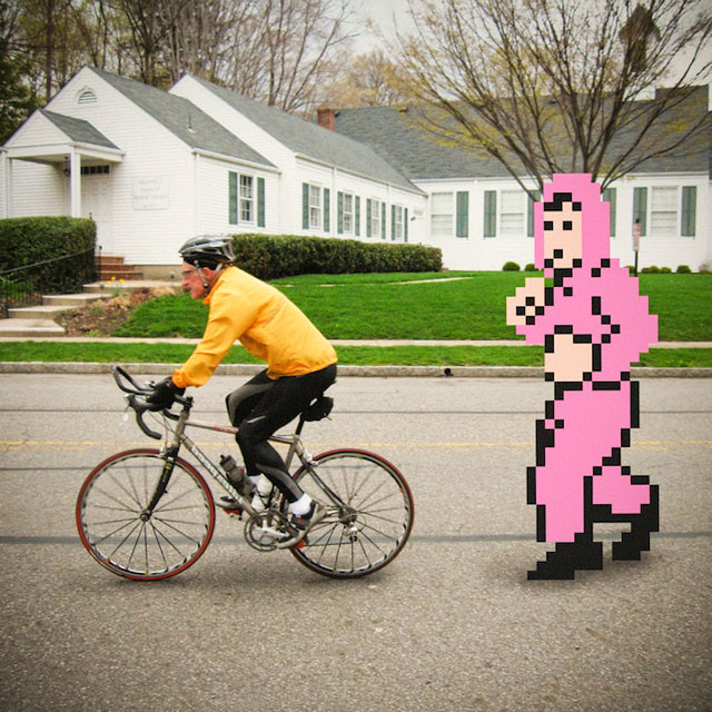 8 bit characters in real life