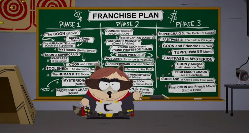 Image result for south park the fractured but whole gameplay