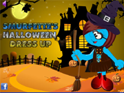 Smurfette's Halloween Dress Up